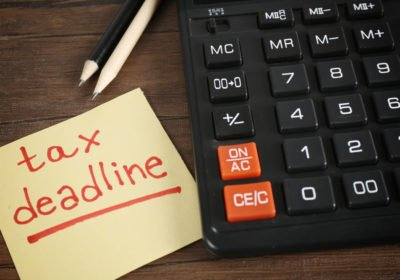 Tax Deadlines for 2020